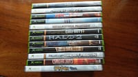 12 Xbox Games all in great shape and tested Portage