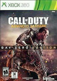 Xbox360 call of duty advanced warfare  Winnipeg, R2W