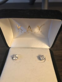 14k white gold 1 ct studs kay jewlers.com check them out New York, 11693