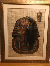 Gold Frame Classy Egyptian Painting Toronto, M6N 4T6