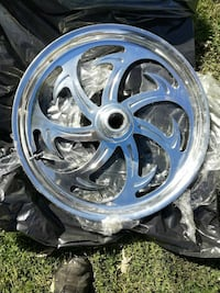 "21""x2.5"" aluminum front wheel motorcycle"