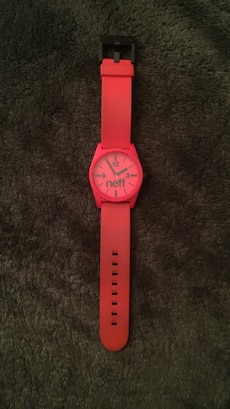neff Daily Uhr red