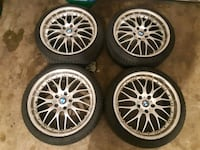 "19"" BMW rims and tires 225-40-19 runflats Toronto, M3K 1Z9"