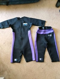 black and purple zip-up jacket and pants Elk Grove