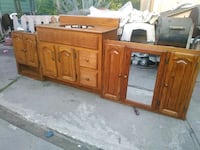 brown wooden cabinet with drawer Richmond, 94801