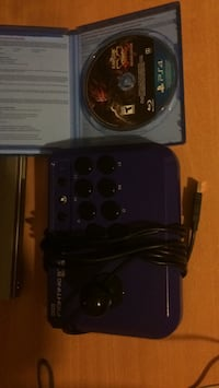 PlayStation Joy stick with street fighter 5 full game  Windsor, N9B 2T6
