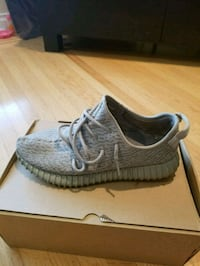 pair of gray Adidas Yeezy Boost 350 Burnaby, V5C 3R3