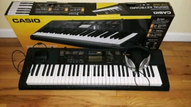Casio  piano-keyboard