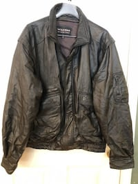 Wilson's Leather Men's Black Leather Jacket 2XLT Manassas