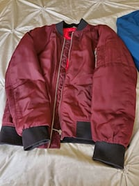 2 jacket one red and another dark blue Mississauga, L5R 3K4