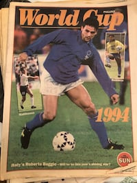 Sports section from The Sun Newspaper circa 1994 Toronto, M6N 1R4