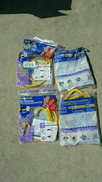 four yellow hose connector packages Rosemead, 91770