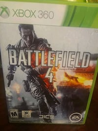 Console game batte field 4 come with 2 game desk  for Xbox 360