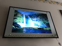 Motion Light Up Waterfall Picture Mirror with sound Elgin, 60120