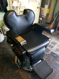New barber chair