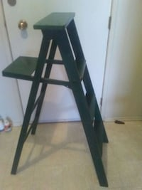 Green wooden step ladder Edmonton, T5E 4B5