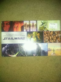 Limited Edition Star Wars Lithographs! North Vancouver, V7L 3N3
