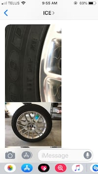 Mustang Winter Tires:  235/50/r18 Burnaby