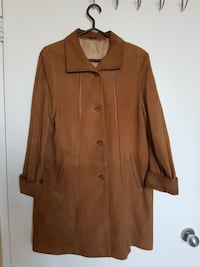 Suede leather women`s coat Toronto