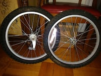 As new bicycle tire with aluminum rims Brooklyn, 11230
