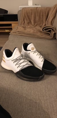 2017 Adidas Harden Vol. 1 «Disruptor» White/Black-Gold Oslo, 1176