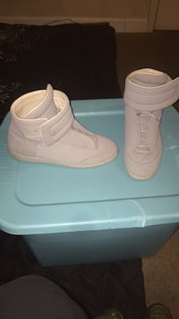 pair of white Nike high-top sneakers Charlotte, 28216