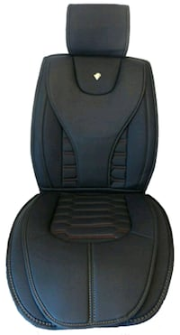 black leather car seat cover 540 km