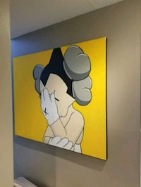 Kaws Astro Boy canvas painting Surrey, V3R 4A7