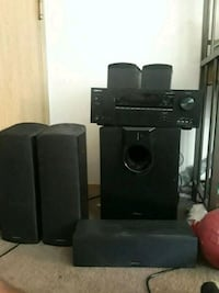 black home theater system Seattle, 98105