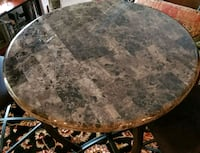 round brown marble top table Centreville, 20121