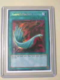 Harpies Feather Duster yugioh Toronto, M1P 2K2