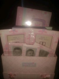 Pink photo book and frames Charlotte, 28269