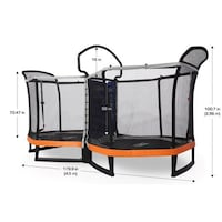 Brand new in the box bounce pro battle zone trampoline set ! Fort Mill, 29715