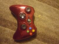 red Xbox 360 wireless controller Hobart, 46342