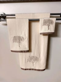 Tree of Life 3pc Bathroom Towel Set Albany, 56307