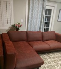 Like brand new Sectional left chaise Firm on price