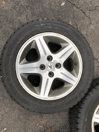 Acura - EL - 2000 original wheels with winter tires bolts type 4x100 Hamilton, L8E 1E1