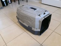 Grey Dog cat carrying cage case pet porter Toronto, M6H 1W5