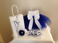 white and blue party favor Orlando, 32827