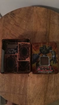 Yu-Gi-Oh trading cards and case Mississauga, L5L
