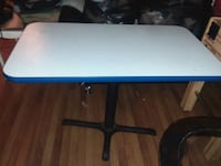 blue and white wooden table Atlanta, 30314
