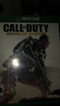Xbox one call of duty advanced warfare case Upper Marlboro, 20774