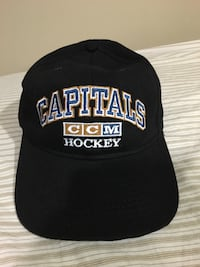 Washington Capitals Navy Blue/ Gold hat   Silver Spring, 20906