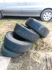 , 315x75x16. 50% rubber , good for spare.