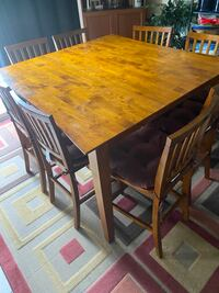 Steve Silver Abaco Counter Height Dining Table set (negotiable)