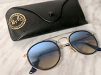 Ray-ban double round bridge blue gradient Montreal, H3T 1J4