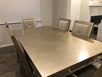 Z gallerie 6 seater dining table with extension Portland, 97229