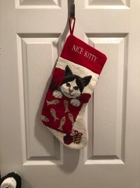 Kitty Cat Christmas Stocking Point Pleasant, 08742