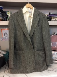 gray notch lapel suit jacket Houston, 77077