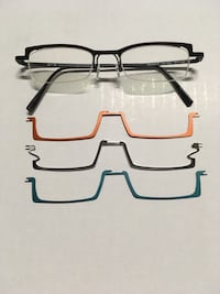 Unisex Glasses with interchangeable clips Barrie